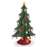 Classic Tabletop Christmas Tree pop up card - thumbnail