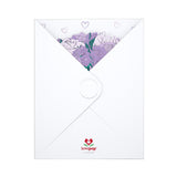 Purple Rose Bouquet                                   pop up card - thumbnail