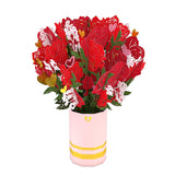 Sweetheart Flower Bouquet                                   pop up card - thumbnail