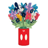 Disney's Mickey Mouse Colorful Blooms Bouquet                                   pop up card - thumbnail