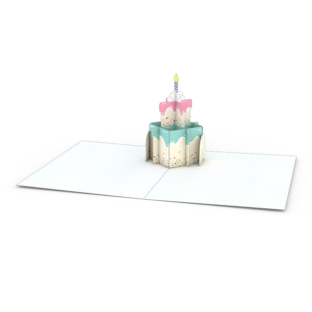 Birthday Notecards (Assorted 4-Pack)                                         pop up card