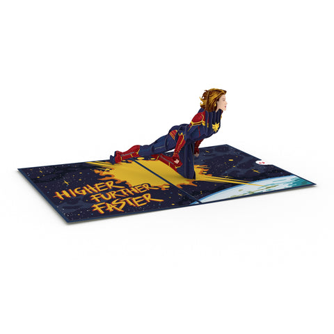 Captain Marvel greeting card -  Lovepop