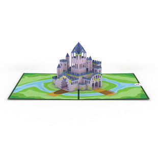 Castle greeting card -  Lovepop