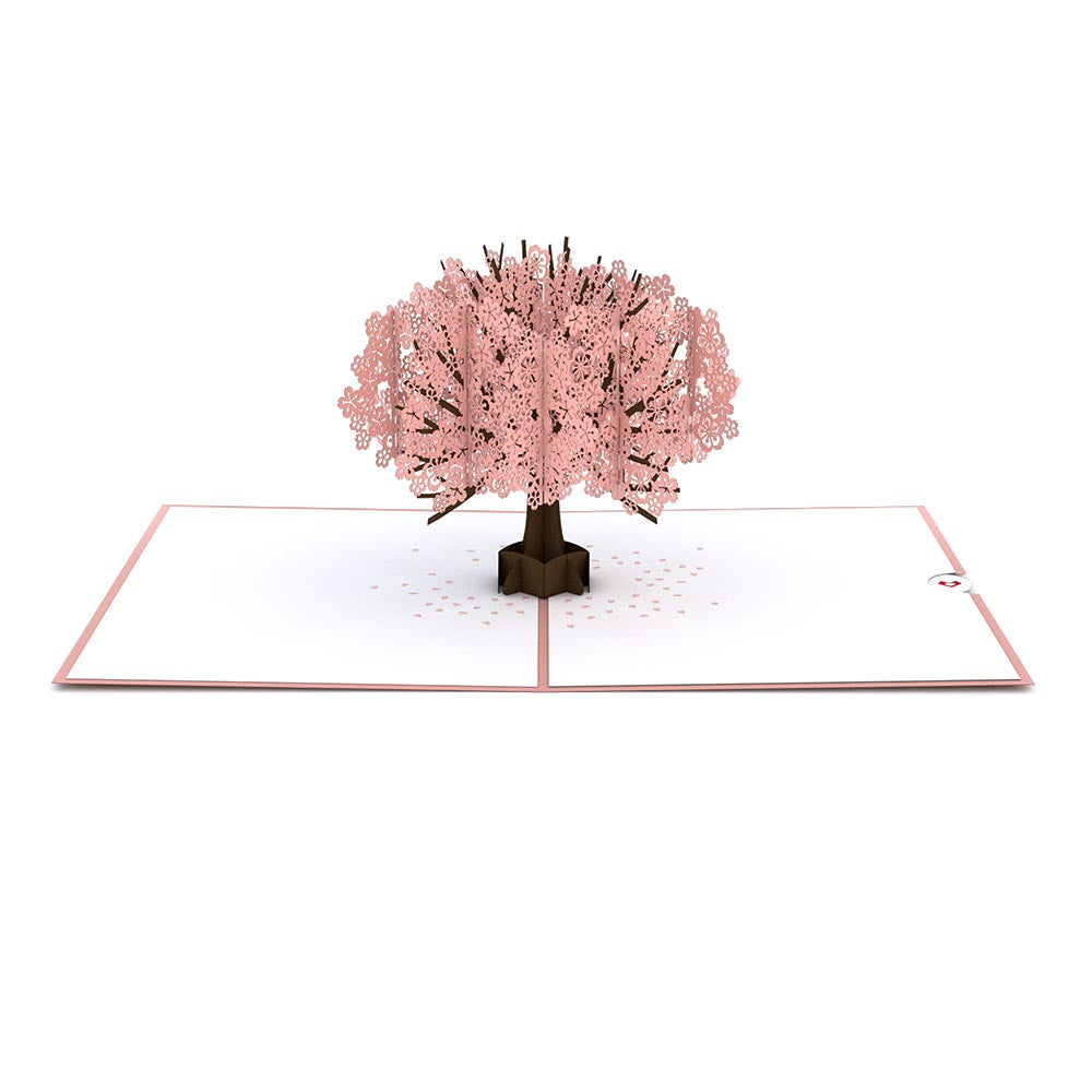 Cherry Blossom Pop Up Mothers Day Card Greeting