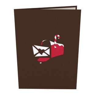Christmas Mailbox Pop up Card