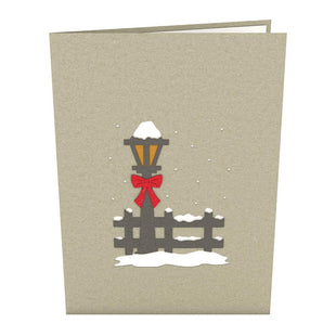 Christmas Tree Village Pop Up Card