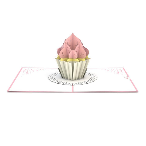 Cupcake Pop Up Birthday Card greeting card -  Lovepop