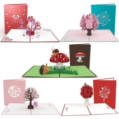 Dad's V-Day Survival 5 Pack greeting card -  Lovepop