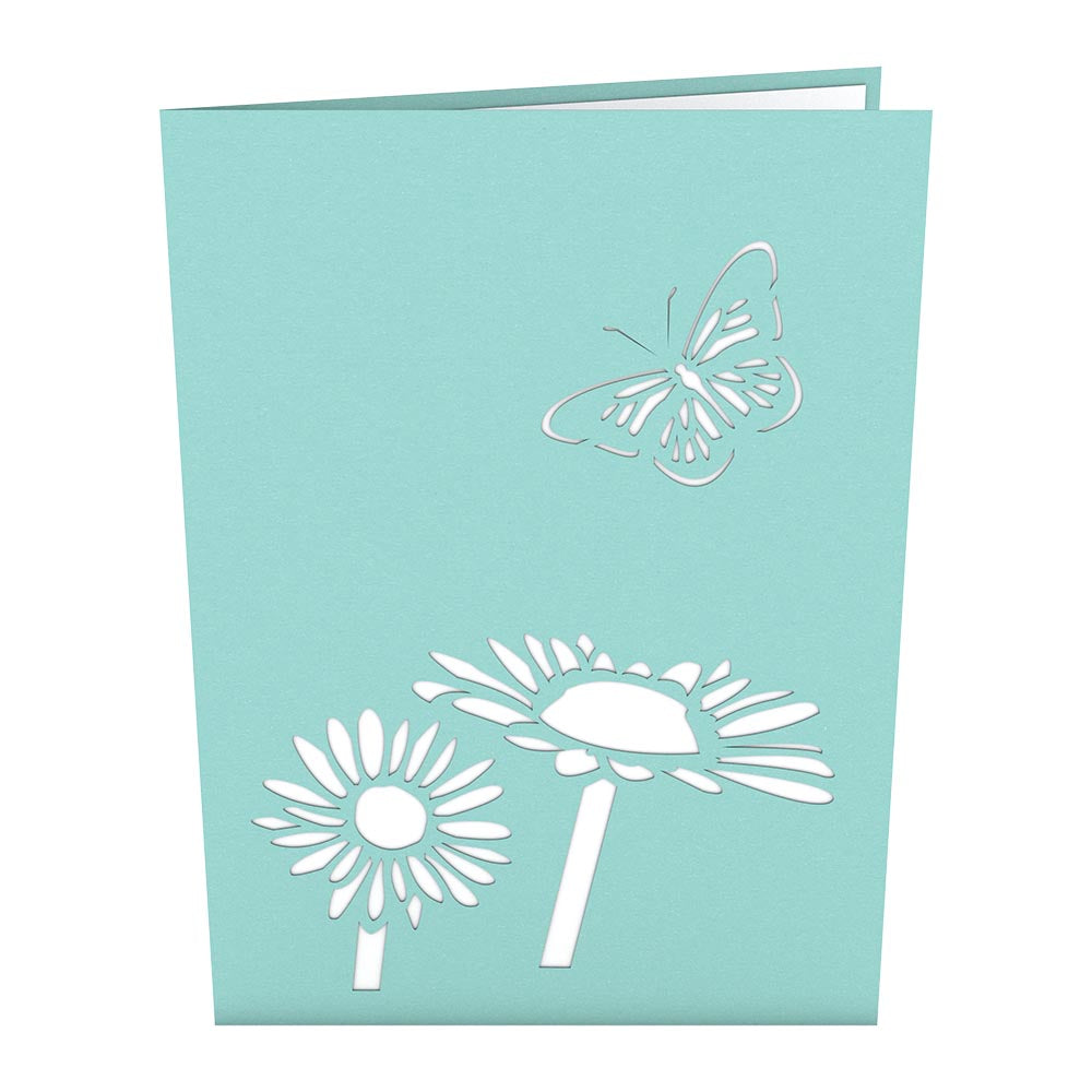 Daisy Patch Classic             pop up card