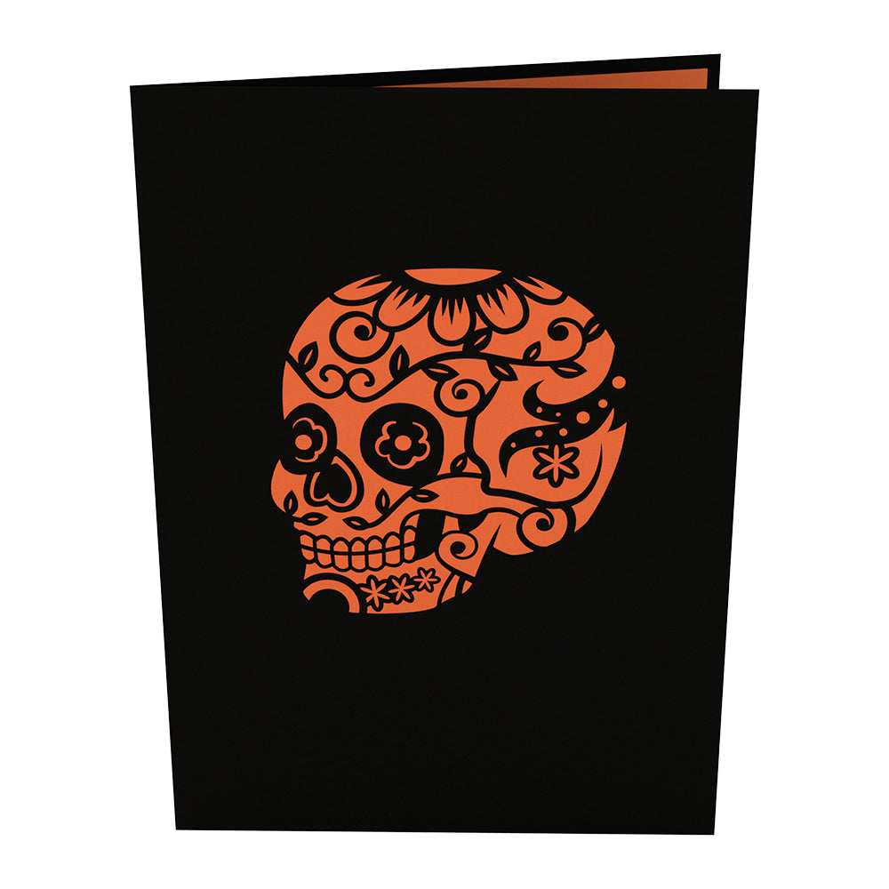 Day Of The Dead Pop Up Card - Lovepop