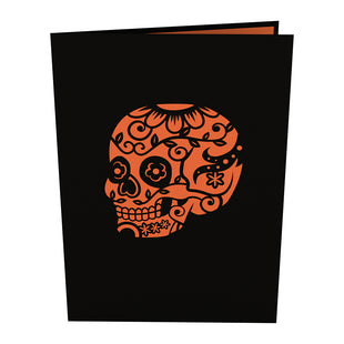 Day of the Dead Halloween Pop Up Card