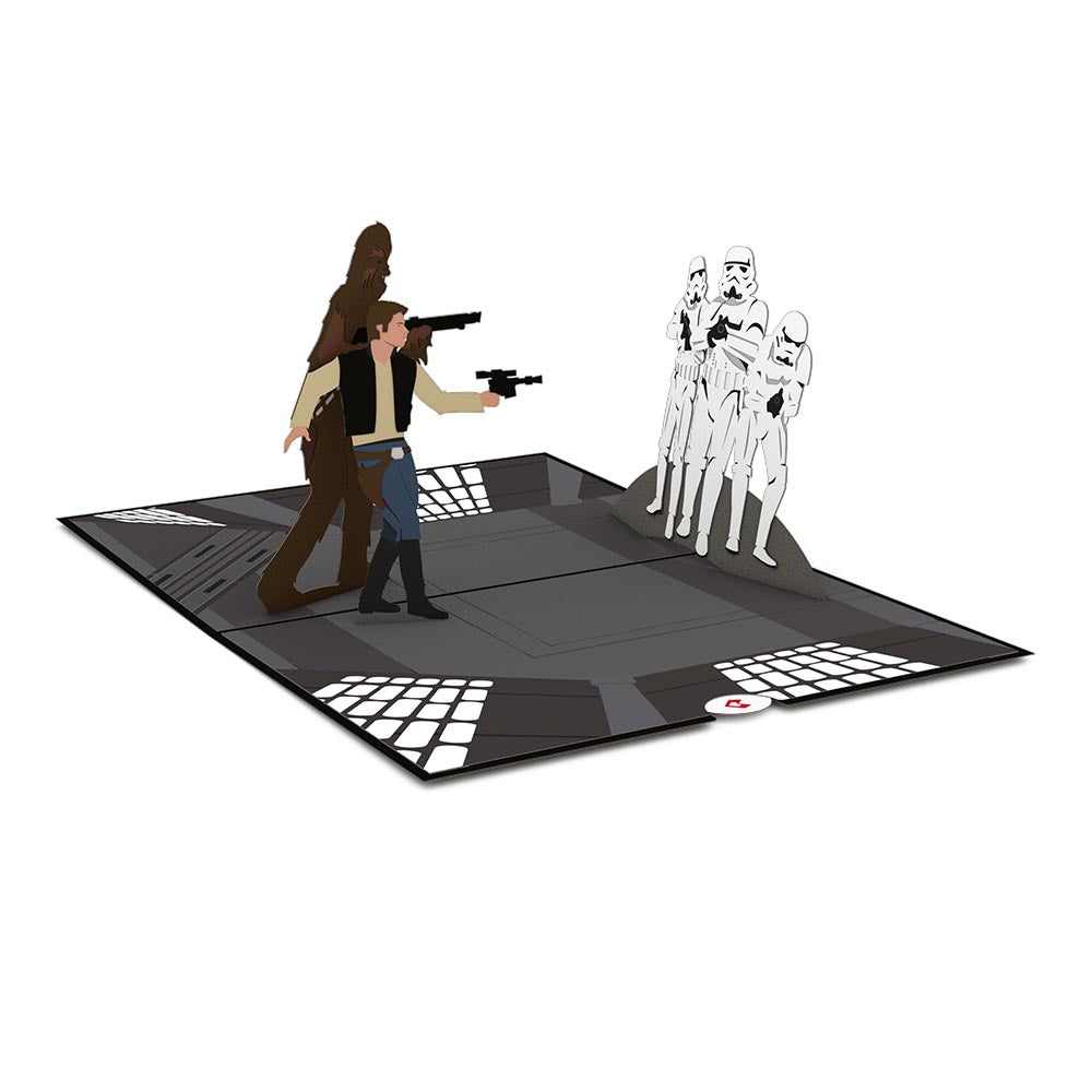The Death Star™ Showdown             pop up card