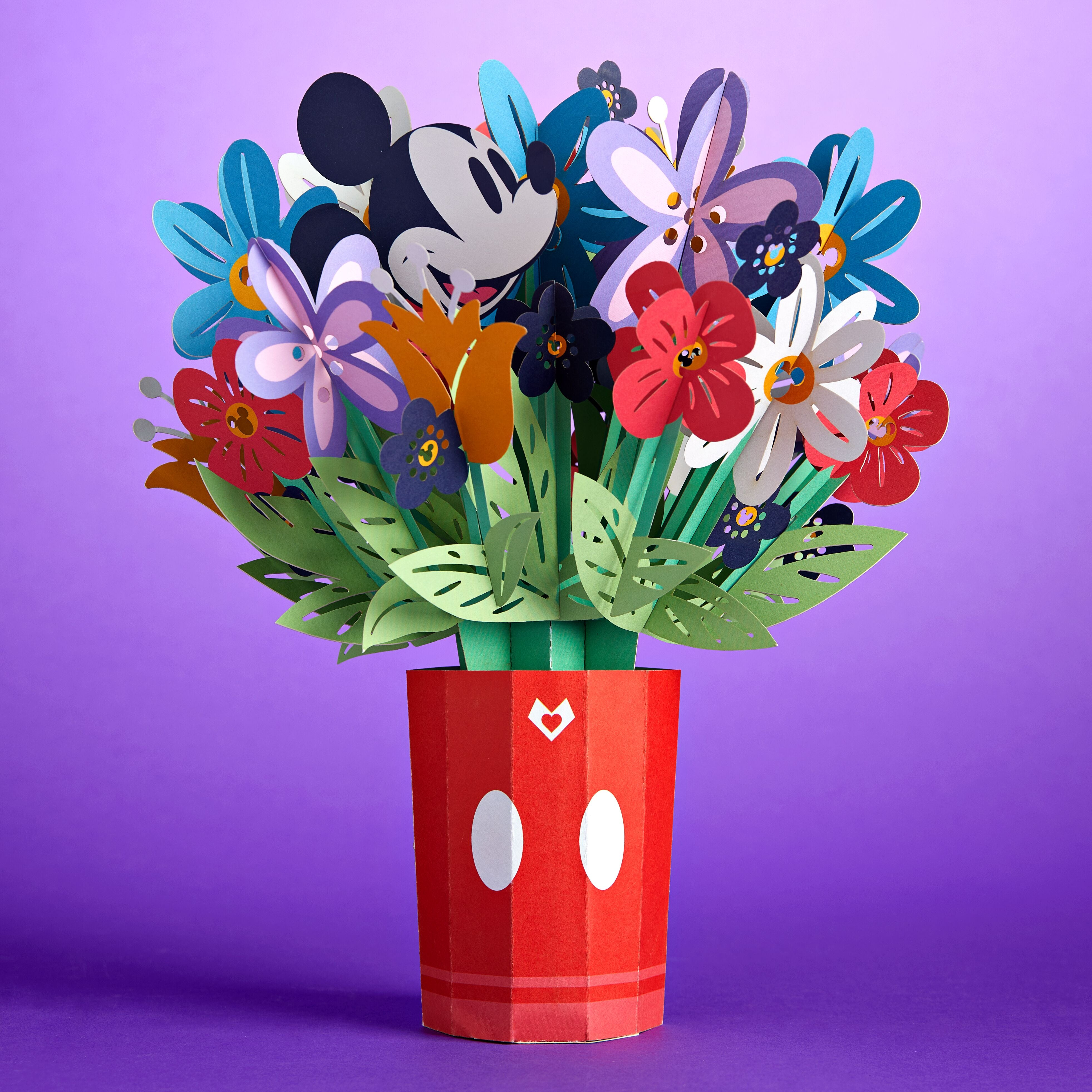 Disney's Mickey Mouse Colorful Blooms Bouquet