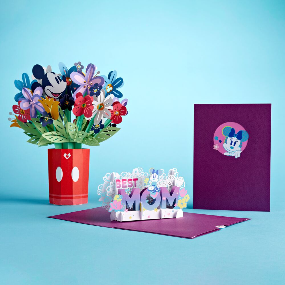 Disney's Mickey and Minnie Mother's Day Bundle             pop up card