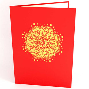 Pop Up Diwali Card