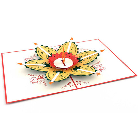 Pop Up Diwali Card greeting card -  Lovepop