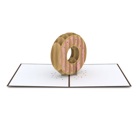 Donut Pop Up Card greeting card -  Lovepop