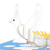 Doves pop up card - thumbnail