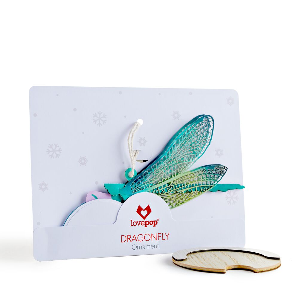 Dragonfly Ornament             pop up card