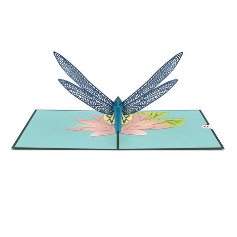 Dragonfly Pop up Card greeting card -  Lovepop