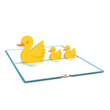 Ducklings Classic                                   pop up card - thumbnail