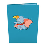 Disney's Dumbo                                                          birthday                                                     pop up card - thumbnail