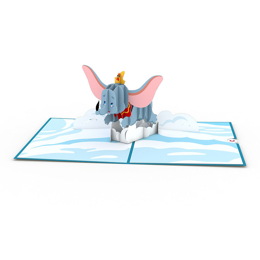 Disney's Dumbo                                             birthday                            pop up card