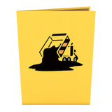 Dump Truck pop up card - thumbnail