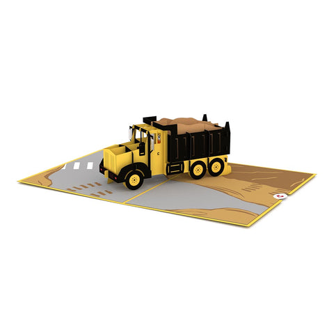 Dump Truck Pop up Card greeting card -  Lovepop