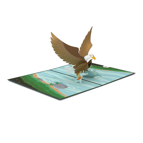 Eagle Pop up Card greeting card -  Lovepop