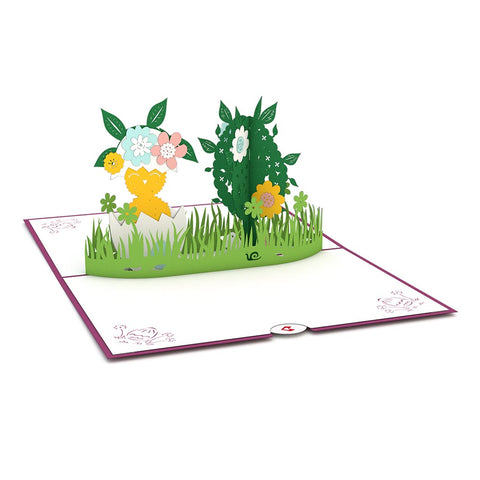 Easter Egg Hunt Pop Up Easter Card greeting card -  Lovepop
