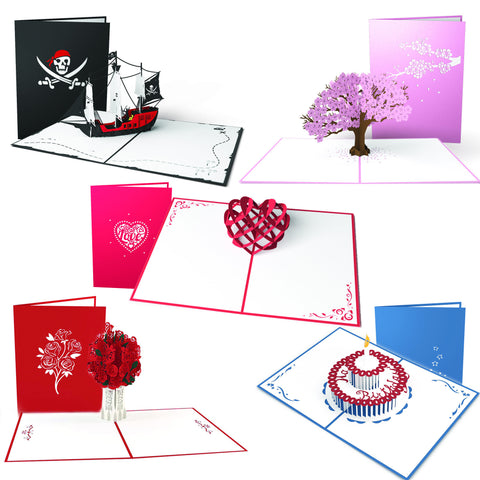 AnyPerk Everyday 5 Pack greeting card -  Lovepop