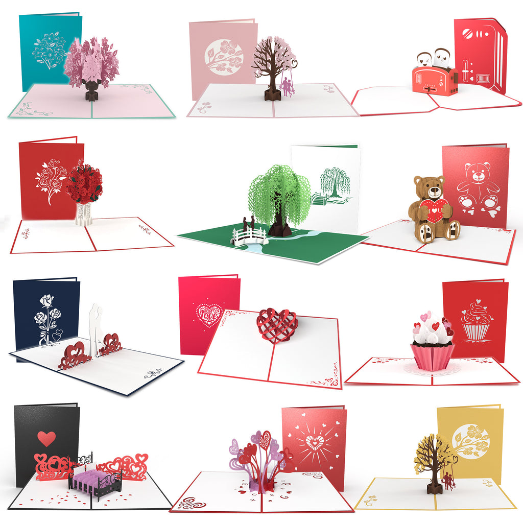 Everything Love 12 Pack pop up card