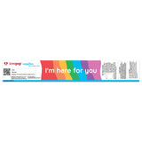 I'm Here for You Face Shield (Case Pack, 80 pcs) Free Shipping                                   pop up card - thumbnail
