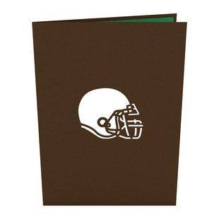 Football 3D Pop Up Card