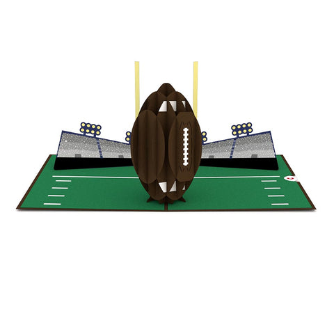 Football 3D Pop Up Card greeting card -  Lovepop