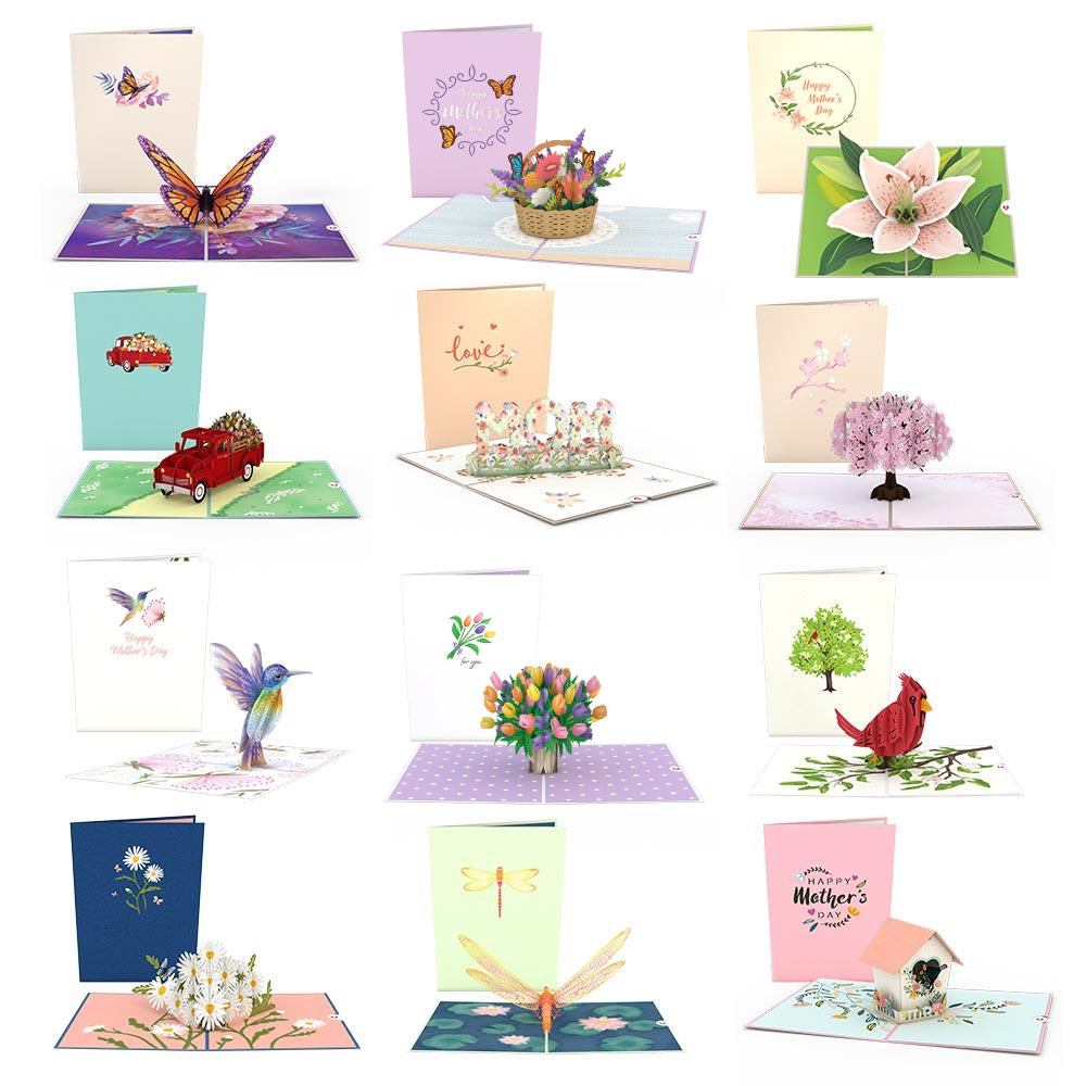 Mother's Day Favorites 12-Pack             pop up card