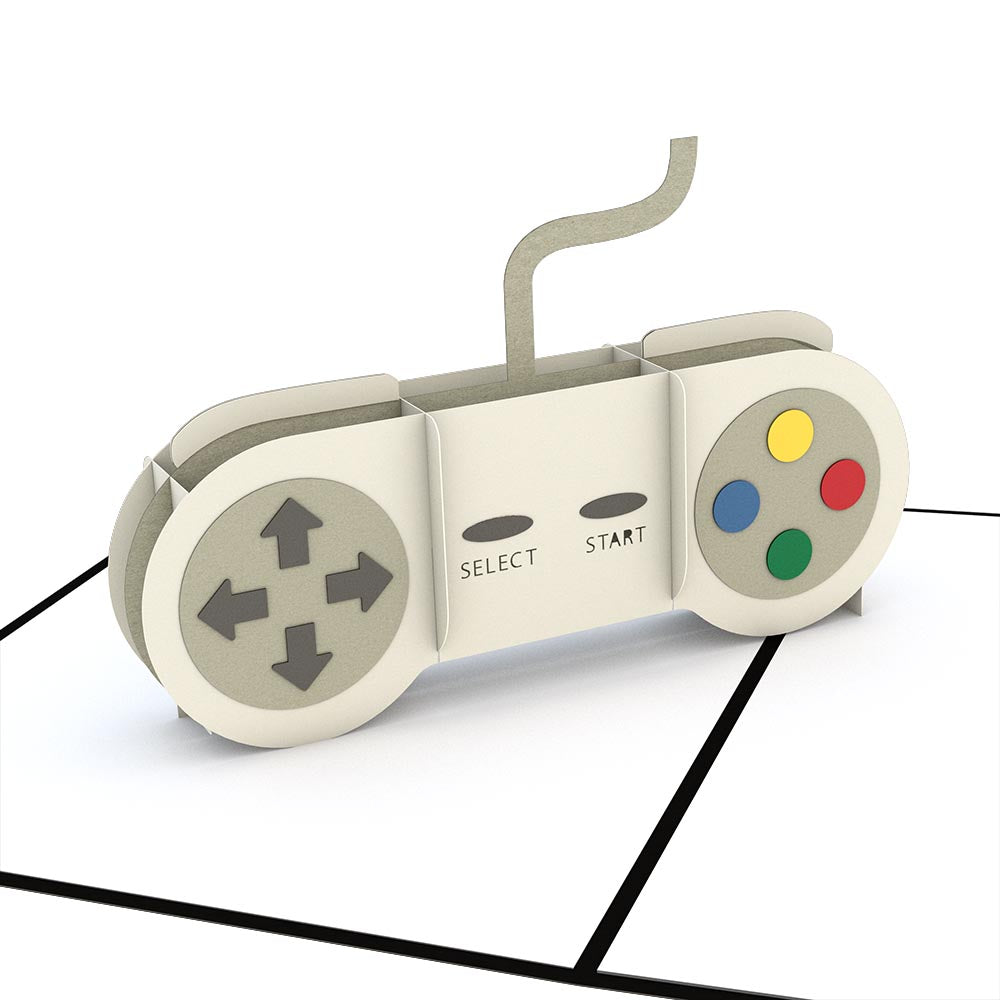 Game Controller pop up card