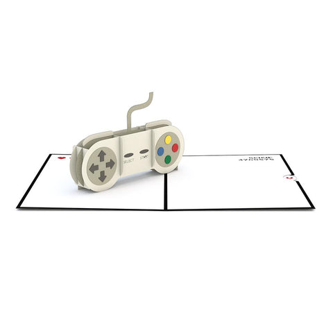 Game Controller Pop up Card greeting card -  Lovepop