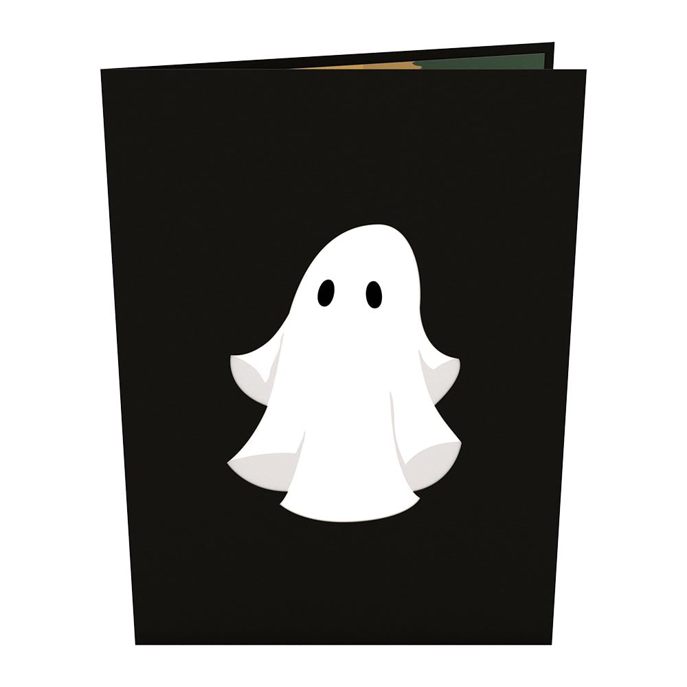 Ghost Pop-Up Card