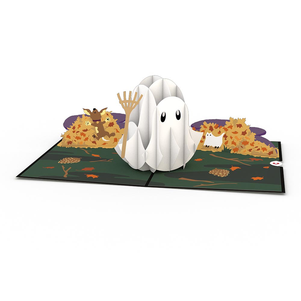 Ghost             pop up card