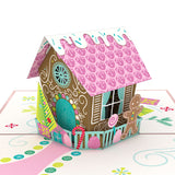 Gingerbread House Classic                                   pop up card - thumbnail
