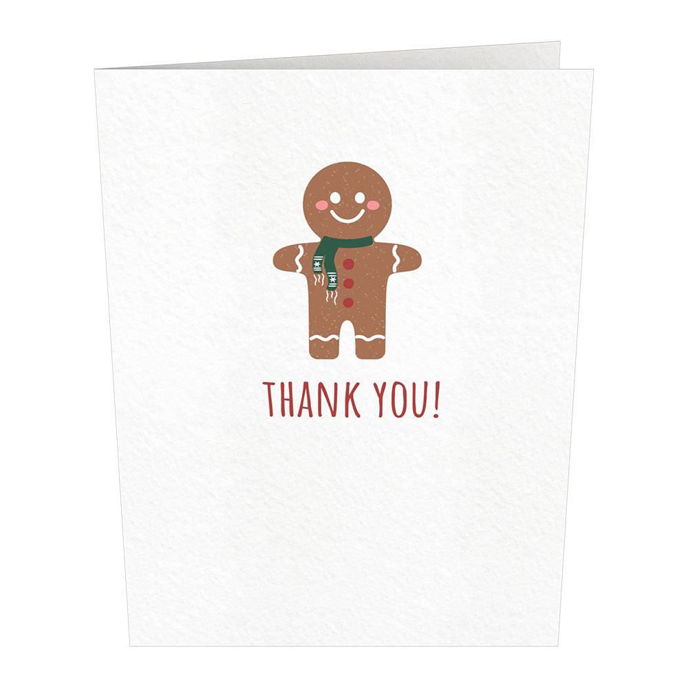 Notecard 24 Set: Holiday Thank You             pop up card