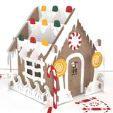 Gingerbread House pop up card - thumbnail