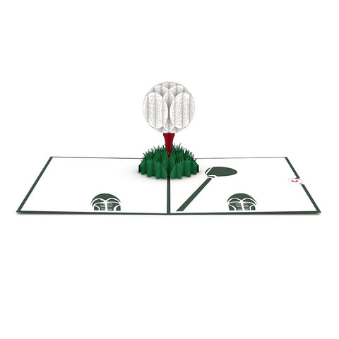 Golf Ball Pop Up Father's Day Card greeting card -  Lovepop