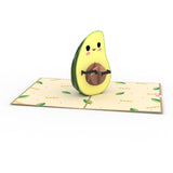 Gonna Avo Baby pop up card - thumbnail