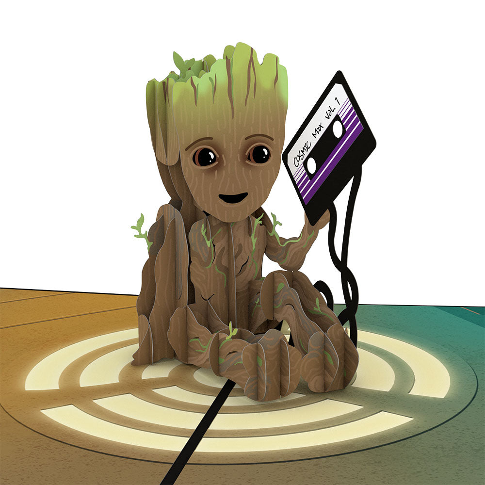 I Am Groot!                                             birthday                            pop up card