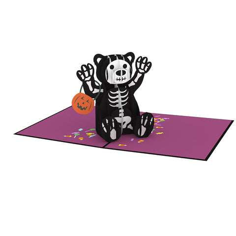 Halloween Bear Pop up Card greeting card -  Lovepop