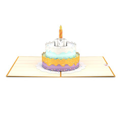 Happy Birthday Cake Pop Up Card Greeting