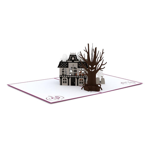 Haunted House Pop Up Card greeting card -  Lovepop